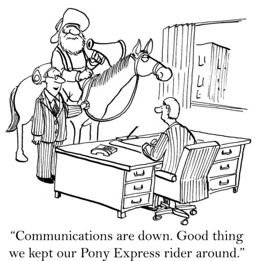 Communications in a crisis